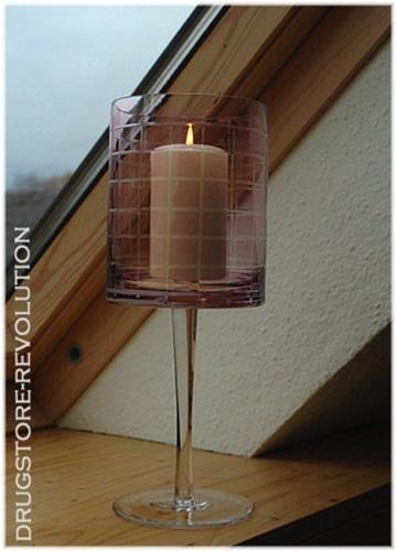 windlicht teelichthalter kerzenst nder flieder romantik impressionen h30 cm neu ebay. Black Bedroom Furniture Sets. Home Design Ideas